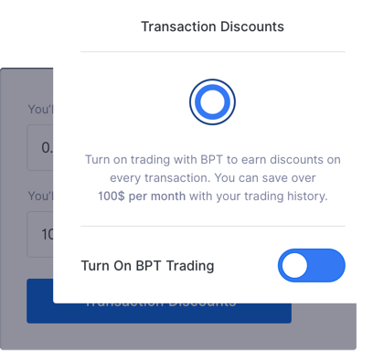 Illustration of the mobile version of the discount section